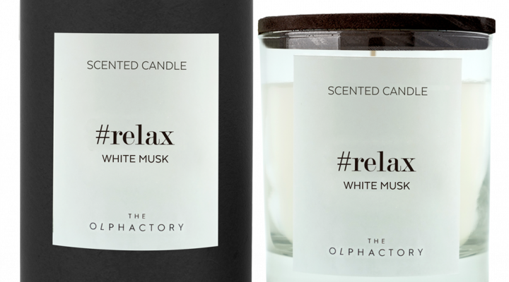 THE OLPHACTORY | candela WHITE MUSK #relax