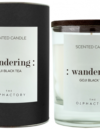 THE OLPHACTORY |  candela GOJI BLACK TEA   : wandering :